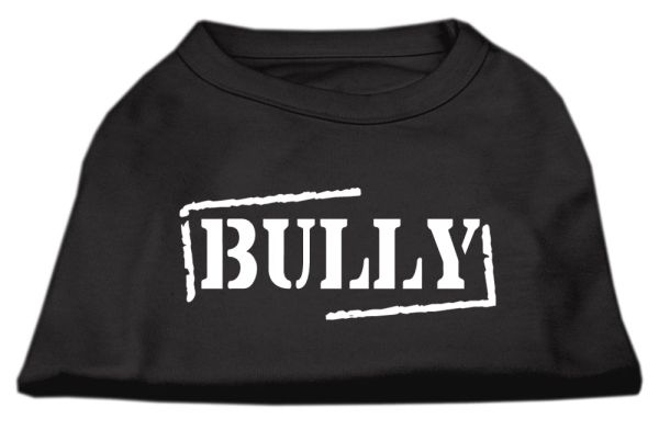 Cute Dog Shirts: BULLY Screen Print Dog Shirt in Various Colors & Sizes by Mirage