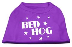 Cute Dog Shirts: BED HOG Screen Print Dog Shirt in Various Colors & Sizes by Mirage