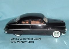 1949 Ford Mercury Diecast Collectible Model Car 1:24 Scale Motormax