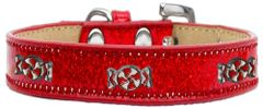 Widget Dog Collars: Ice Cream Dog Collar with PEPPERMINT Widgets in Various Colors & Sizes