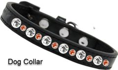 CAT/DOG COLLARS: Halloween Jewel Posh Cat or Dog Collar by Mirage Made in USA