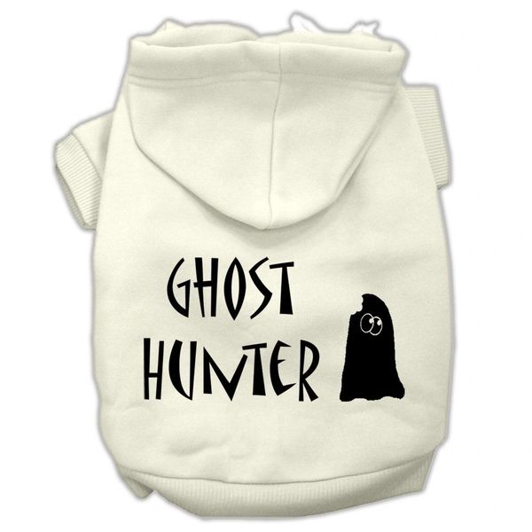 Dog Hoodies: GHOST HUNTER Screen Print Dog Hoodie in Various Colors & Sizes