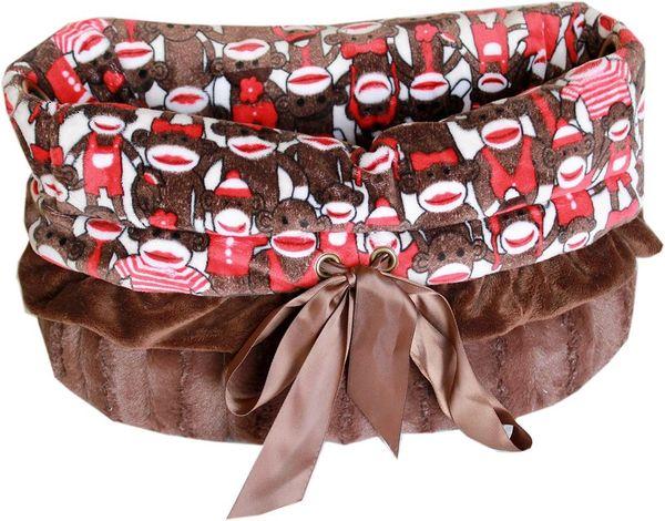 Dog Bed/Car Seat: Reversible Snuggle Bug Pet Bed, Bag, Car Seat - FUNKY MONKEY