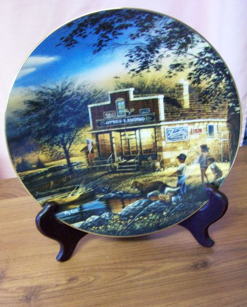 "DECORATIVE PLATE Limited Edition Terry Redlin Heartland Collection ""Summertime"""