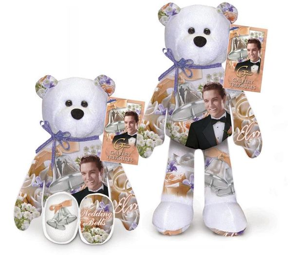 ELVIS PRESLEY BEAR #17 Collectible Elvis Plush Bear by Limited Treasures - WEDDING BELLS