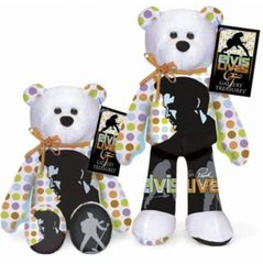 ELVIS PRESLEY BEAR #13 Elvis Presley Collectible Plush Bear - ELVIS LIVES