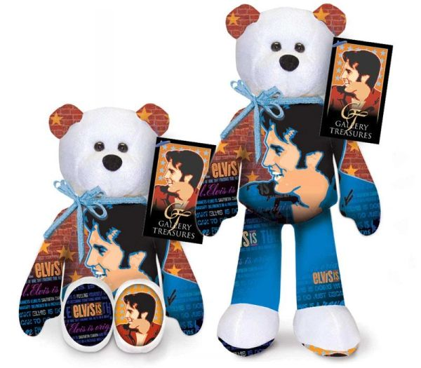 ELVIS PRESLEY BEAR #18 Collectible Elvis Plush Bear - ELVIS IS