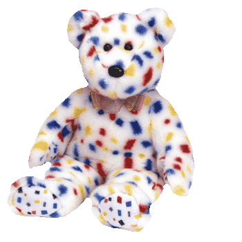 Y2K the Millenneum Bear Beanie Baby - Ty