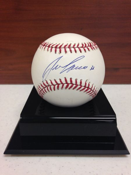 ***JOSE CANSECO*** Signed and Certified by GA (Global Authentics) Official Major League Baseball - Certification # GV562765