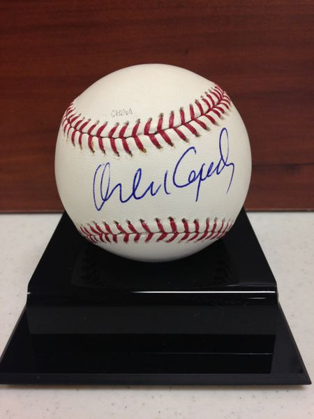 ***ORLANDO CEPEDA*** Signed and Certified by GA (Global Authentics) Official Major League Baseball - Certification # GV554226