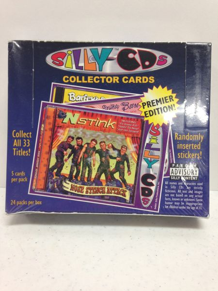 SILLY CDs Collector Cards - Premier Edition - 5 cards per pack, 24 packs per box