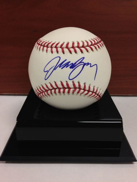 ***JASON BAY*** Signed and Certified by GA (Global Authentics) Official Major League Baseball - Certification # GV546909