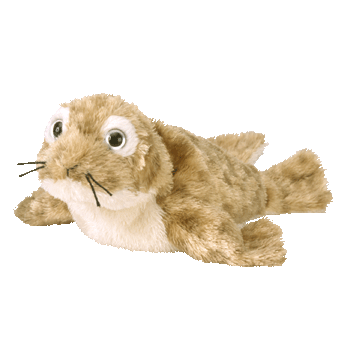 FINS the SEAL Beanie Baby - Ty