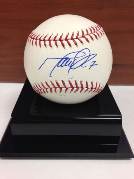 ***MARK DEROSA*** Signed and Certified by GA (Global Authentics) Official Major League Baseball - Certification # GV562777