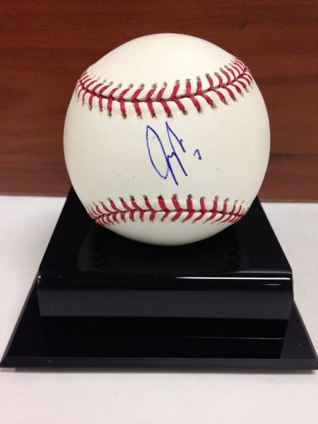 ***JEFF FRANCOUER*** Signed and Certified by GA (Global Authentics) Official Major League Baseball - Certification # GV511982