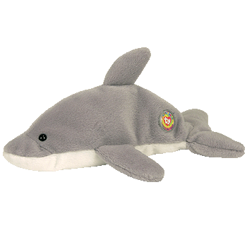 FLASH the DOLPHIN Beanie Baby - Ty