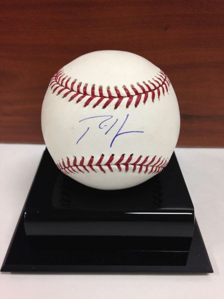 ***RICH HARDEN*** Signed and Certified by GA (Global Authentics) Official Major League Baseball - Certification # GV546147