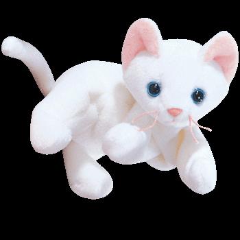 FLIP the CAT (White) Beanie Baby - Ty