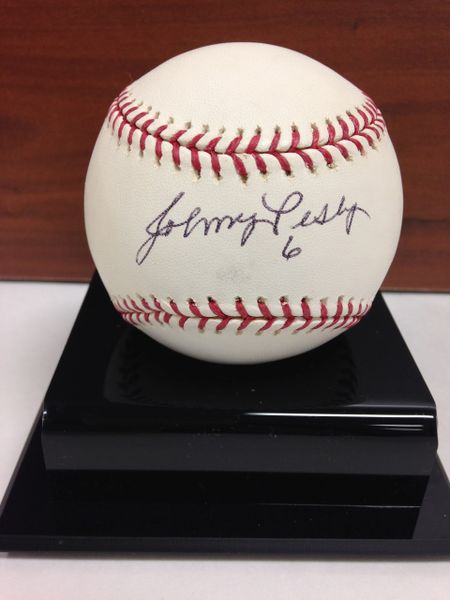 ***JOHNNY PESKY*** Signed and Certified by GA (Global Authentics) Official Major League Baseball - Certification # GV546907