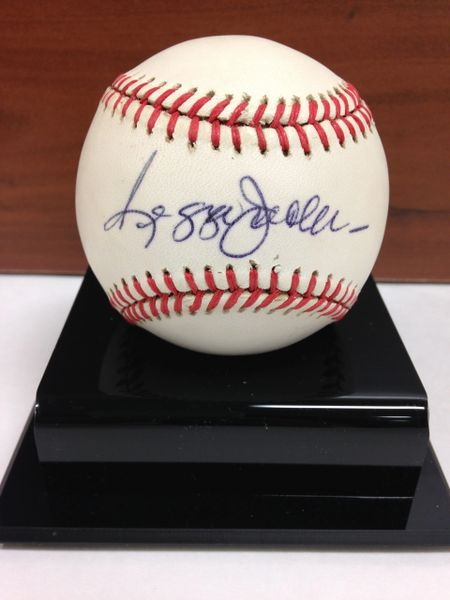 ***REGGIE JACKSON*** Signed and Certified by GA (Global Authentics) Official American League Baseball - Certification # GV529825