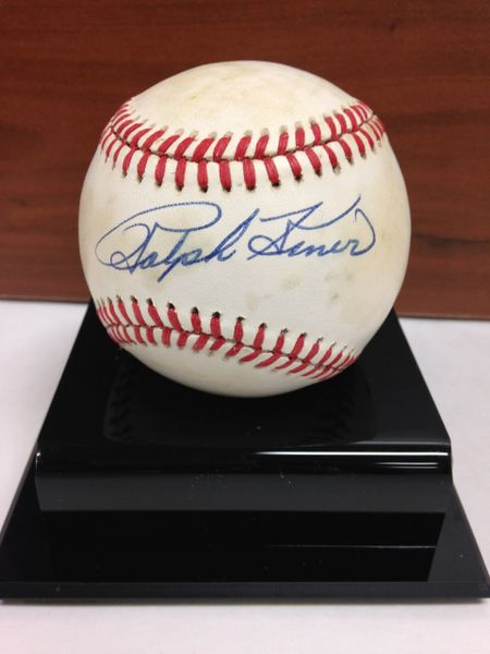 ***RALPH KINER*** Signed and Certified by GA (Global Authentics) Official National League Baseball - Certification # GV528739
