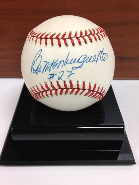 ***BILL MONBOUQUETTE*** Signed and Certified by GA (Global Authentics) Official American League Baseball - Certification # GV525042