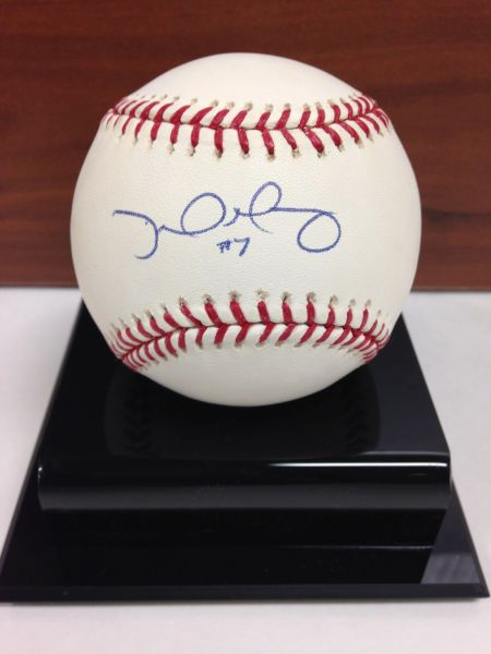 ***DAVID MURPHY*** Signed and Certified by GA (Global Authentics) Official Major League Baseball - Certification # GV529838