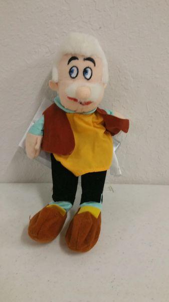 GEPPETTO (Pinocchio) Mini Bean Bag - Disney