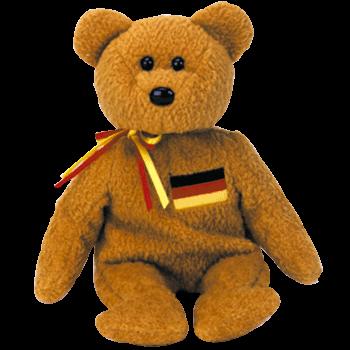 GERMANIA Bear Beanie Baby - Ty