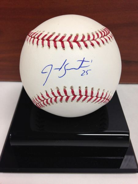 ***JARROD SALTALAMACCHIA*** Signed and Certified by GA (Global Authentics) Official Major League Baseball - Certification # GV546152