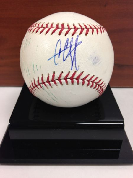 ***CC SABATHIA*** Signed and Certified by GA (Global Authentics) Official Major League Baseball - Certification # GV704737