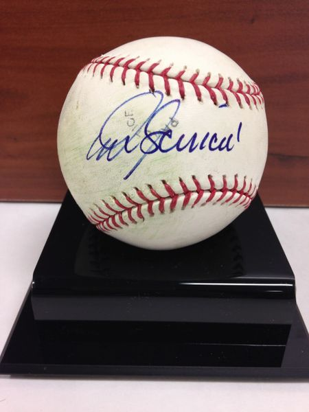 ***MIKE SCIOSCIA*** Signed and Certified by GA (Global Authentics) Official Major League Baseball - Certification # GV529818