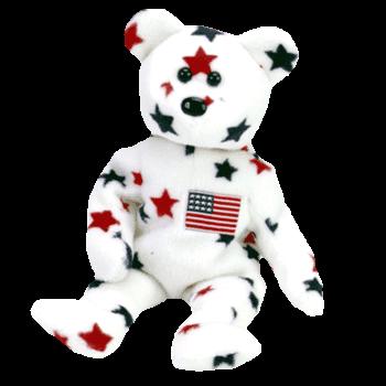 GLORY Bear Beanie Baby - Ty