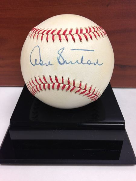 ***DON SUTTON*** Signed and Certified by GA (Global Authentics) Official American League Baseball - Certification # GV528735