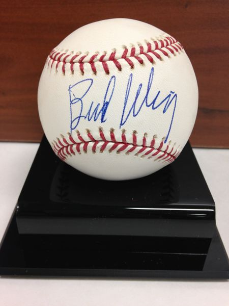 ***BUD SELIG*** Signed and Certified by GA (Global Authentics) Official Major League Baseball - Certification # GV546151