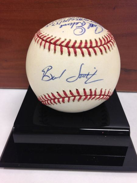 ***ERSKINE, SMITH, PAPPAS, VALENZUELA*** Signed and Certified by GA (Global Authentics) Official Major League Baseball - Certification # GV546156