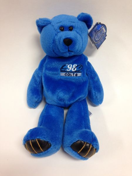 NFL Football - PEYTON MANNING - INDIANAPOLIS COLTS - Limited Treasures Premium Pro Bear Mini Bean Bag