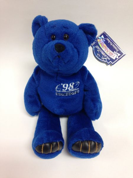 NFL Football - DEION SANDERS - DALLAS COWBOYS - Limited Treasures Premium Pro Bear Mini Bean Bag