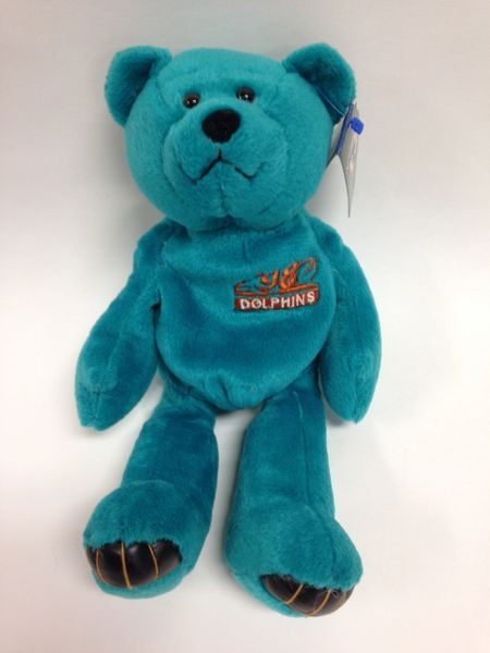 NFL Football - DAN MARINO - MIAMI DOLPHINS - Limited Treasures Premium Pro Bear Mini Bean Bag