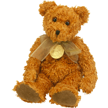 TEDDY the 100th ANNIVERSARY BEAR Beanie Baby - Ty