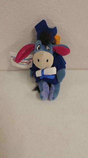 EEYORE GRADUATION Mini Bean Bag - Disney