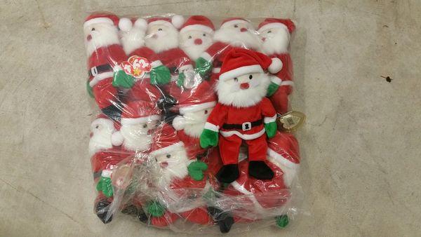 SANTA Christmas Beanie Baby - Ty