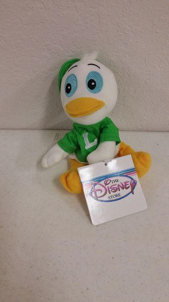 LOUIE DUCK (Green) Mini Bean Bag - Disney