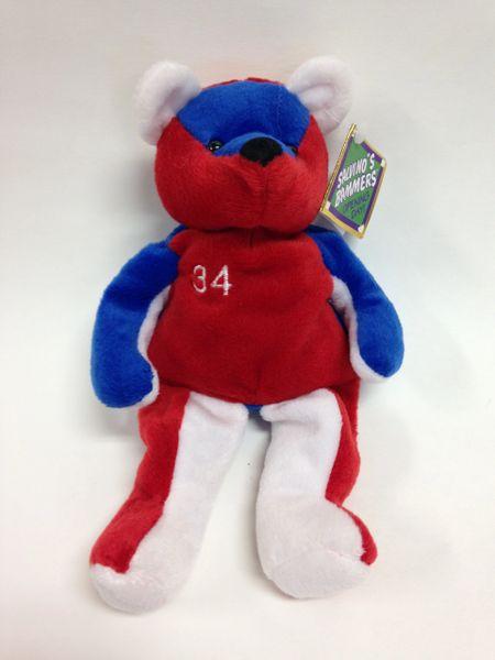Baseball Player *KERRY WOOD* Mini Bean Bag Plushie - Salvino's Bammers Opening Day!