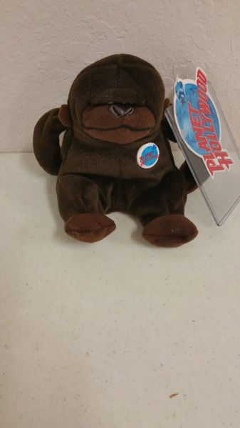 PLANET HOLLYWOOD *George* Mini Bean Bag Plushie