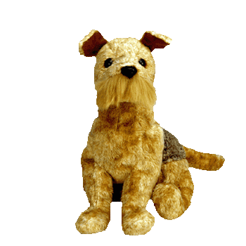 WHISKERS the DOG Beanie Baby - Ty