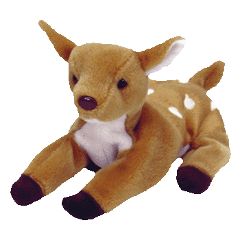 WHISPER the DEER Beanie Baby - Ty