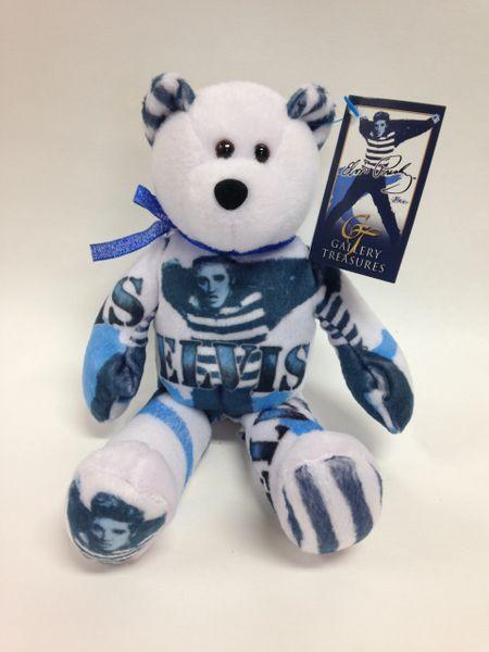 ELVIS PRESLEY Limited Edition *JAILHOUSE ROCK* Gallery Treasures Mini Beanie Bear