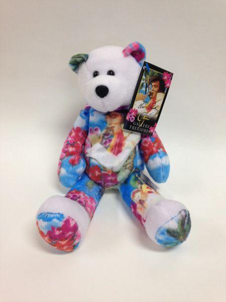 ELVIS PRESLEY Limited Edition *ALOHA FROM HAWAII* Gallery Treasures Mini Beanie Bear