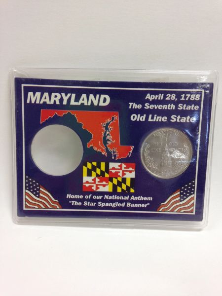 State Quarter Protector *Includes one BU (Brilliant Uncirculated) Quarter* MARYLAND
